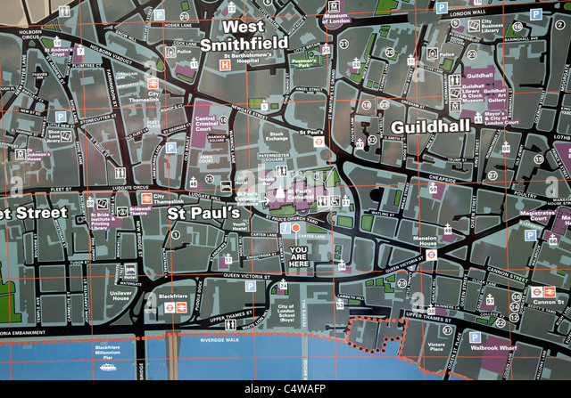 Central London Map Photos and Central London Map Images – Tourist Map of Central London