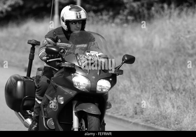 Tur de  Police Motorbike Stock Photos & Police Motorbike Stock Images - Alamy