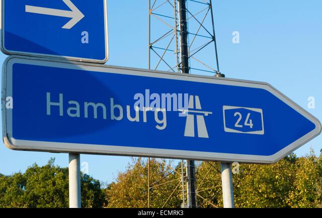 Autobahn Sign Germany Stock Photos & Autobahn Sign Germany ... Autobahn Sign