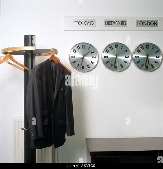 Office World Wall Clocks Stock Photos Office World Wall Clocks