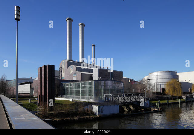 berlin germany thermal power station stock photos berlin. Black Bedroom Furniture Sets. Home Design Ideas