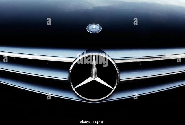 Mercedes benz logo stock photos mercedes benz logo stock for Mercedes benz car logo