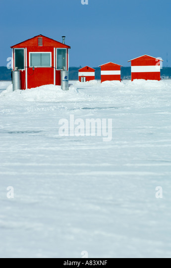 Mille lacs stock photos mille lacs stock images alamy for Red lake fish house rental
