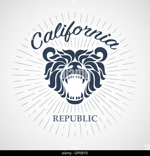 California grizzly bear stock photos california grizzly for T shirt printing stockton ca