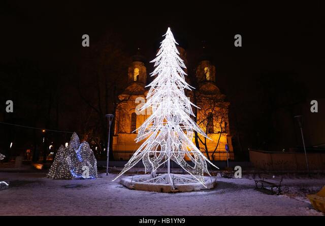 Warsaw Christmas Market Stock Photos & Warsaw Christmas Market ...