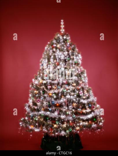 1980s Christmas Tree Stock Photos 1980s Christmas Tree