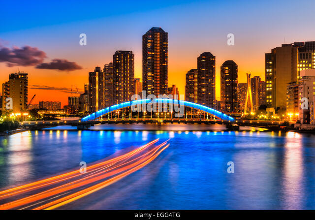 japan tokyo skyscrapers bridge - photo #15