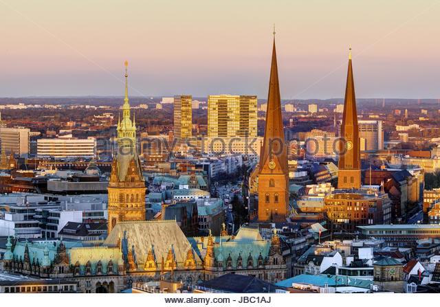 A J Hamburg berliner tor center hamburg stock photos berliner tor center