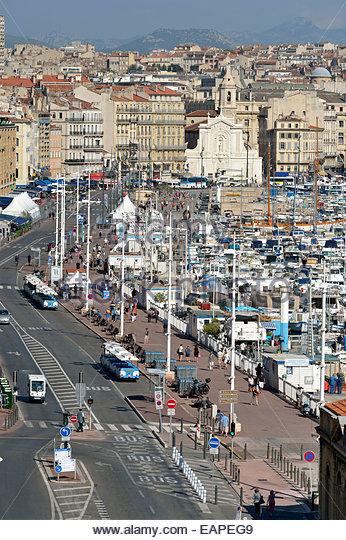 Marseille vieux port stock photos marseille vieux port - Parking vieux port fort saint jean marseille ...