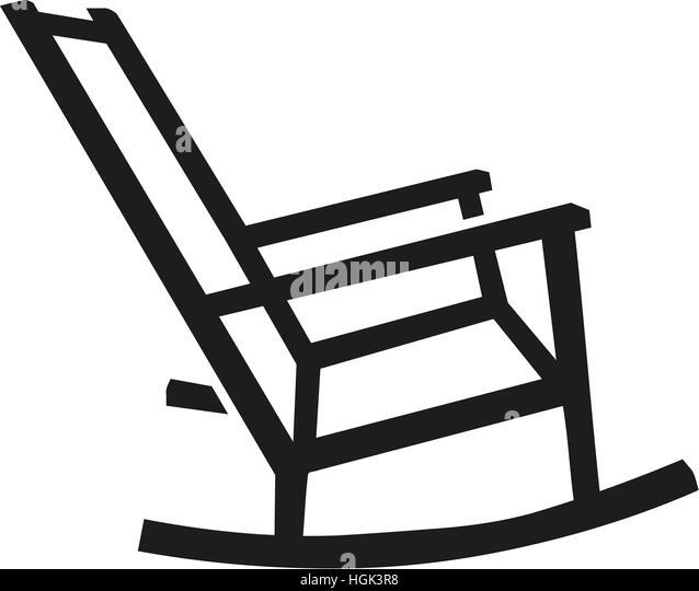 Rocking Chair Clipart antique rocking chair stock photos & antique rocking chair stock