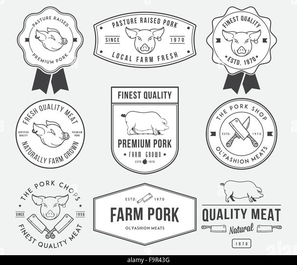 pork meat illustration stock photos  u0026 pork meat illustration stock images