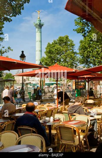 Bastille stock photos bastille stock images alamy for Restaurant bastille terrasse