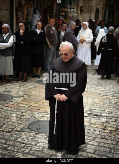 Franciscan Monk Stock ...