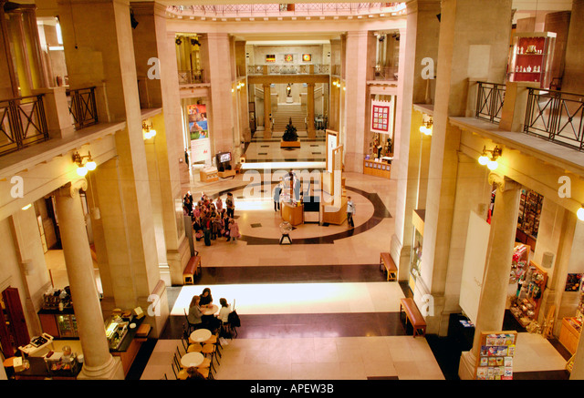 Museum Entry Foyer : Exhibition foyer stock photos