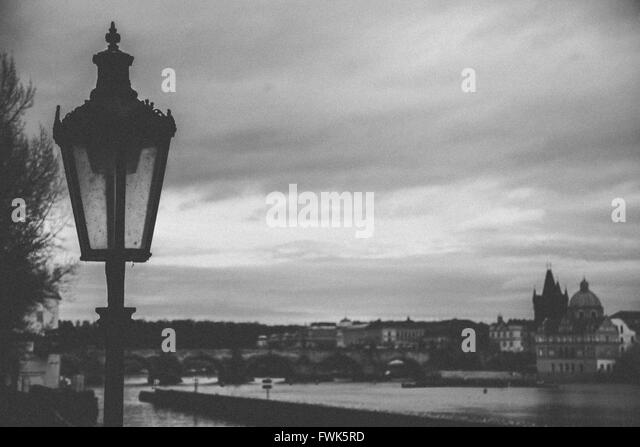 Old Fashioned Street Lamp Against Stock Photos & Old Fashioned ...