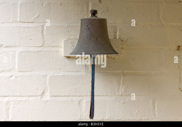 Old Fashioned Door Bell On A Victorian House   Stock Image