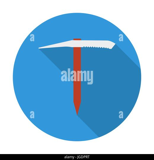 Ice Axe Stock Vector Images Alamy