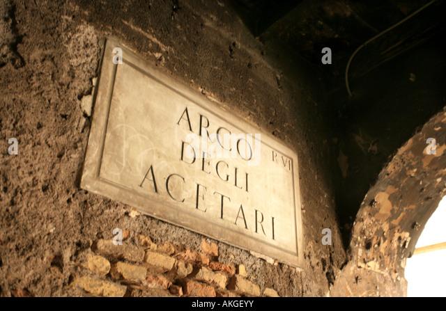 Arco Degli Acetari Stock Photos & Arco Degli Acetari Stock ...