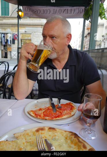 Eating Pizza Rome Stock Photos & Eating Pizza Rome Stock Images ...