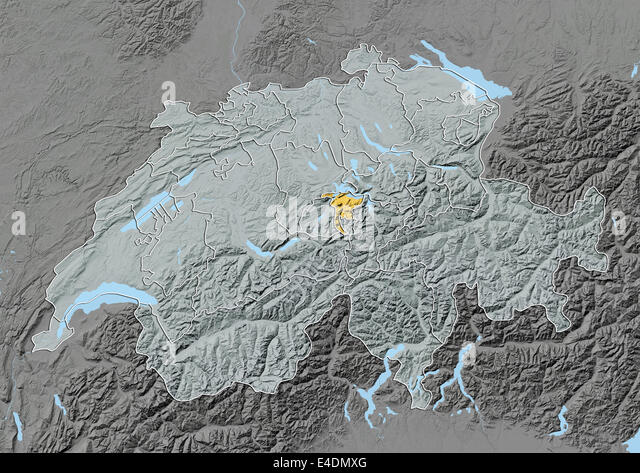 Map Of Nidwalden Stock Photos Map Of Nidwalden Stock Images Alamy