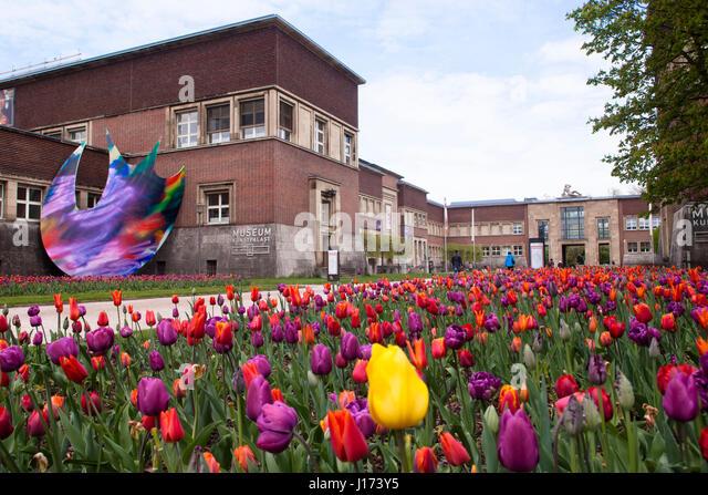 Kunstsammlung Museum Dusseldorf Stock Photos