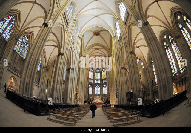 regensburg cathedral interior stock photos regensburg cathedral interior stock images alamy. Black Bedroom Furniture Sets. Home Design Ideas
