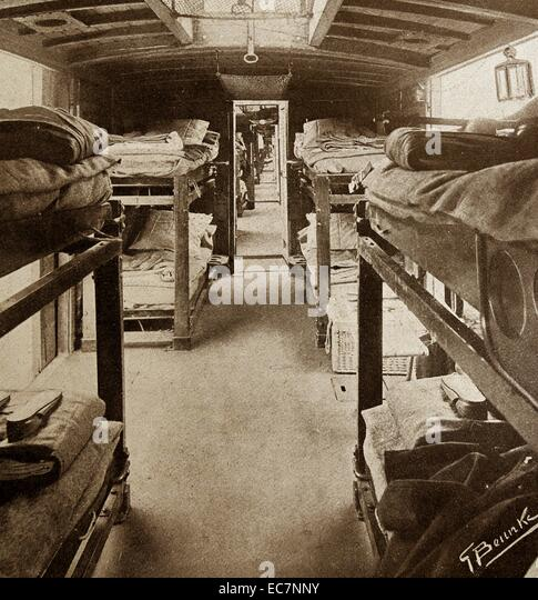 Hospital in wwi stock photos