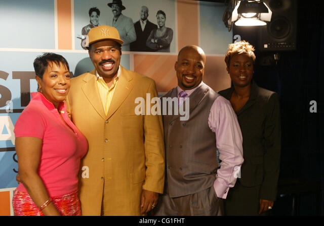 lr shirley strawberry steve harvey nephew tommy and carla ferrell