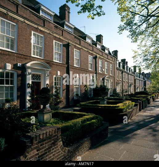Holland Park Apartments: Holland Park London Houses Stock Photos & Holland Park