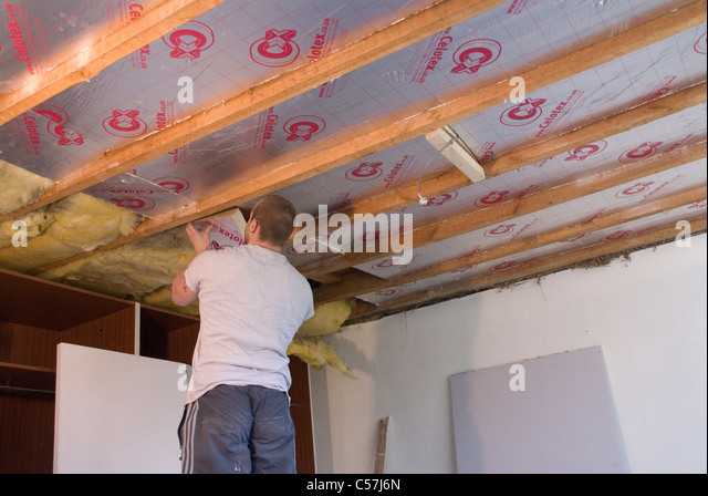 Fitting Interior Insulation Stock Photos Fitting