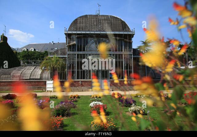 In nantes stock photos in nantes stock images alamy for Restaurant jardin des plantes nantes