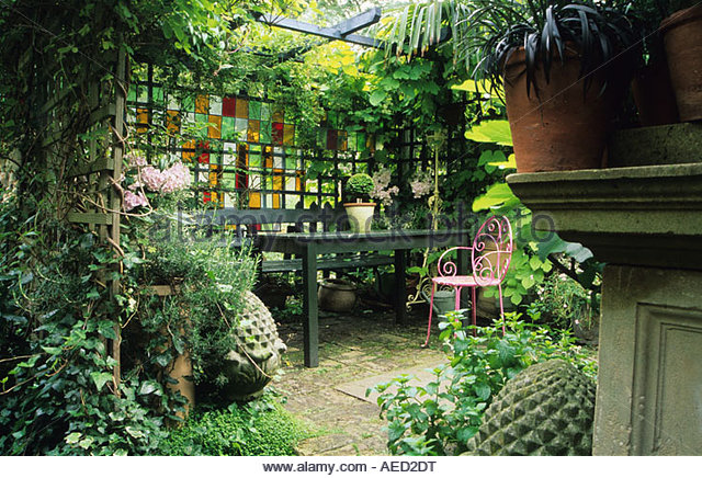 Small Town Garden London Design Jonathan Baillie Secluded