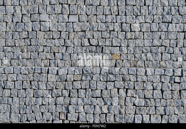 Stone Pavement Cubes Granite Stock Photos Amp Stone Pavement