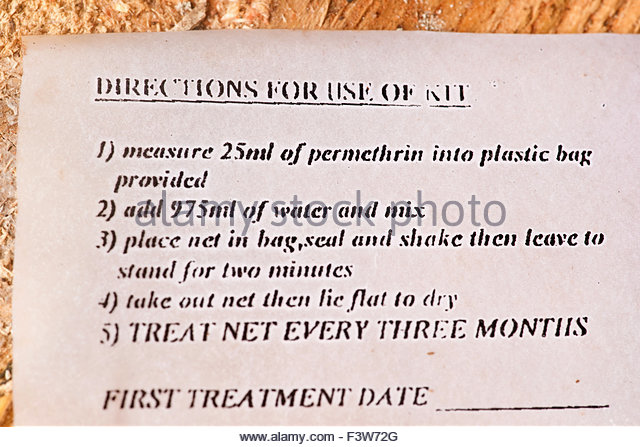 Permethrin Directions For Use