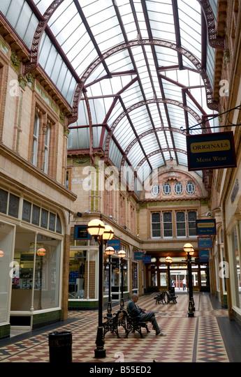 Interior Victorian Era Miller Arcade Preston City Centre Lancashire England UK Modelled On The Burlington