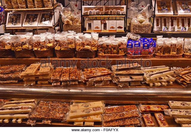 Nougat Nougats Sweet Sweets Stock Photos & Nougat Nougats Sweet Sweets ...