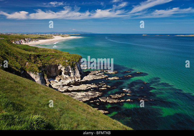 Portrush United Kingdom  City new picture : United Kingdom, Northern Ireland, Derry Portrush, view of Portrush ...