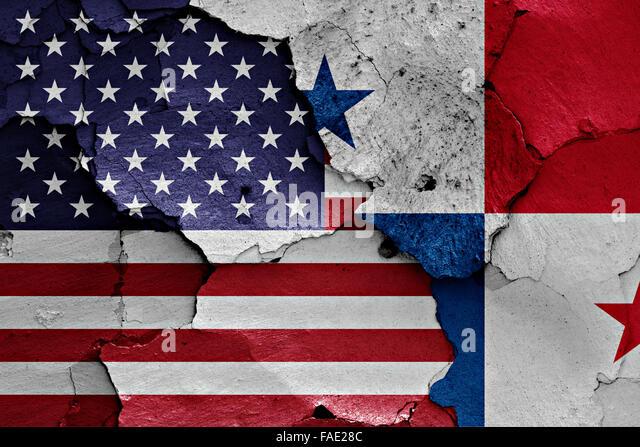 United States Flag Panama Stock Photos United States Flag Panama - Panama flags