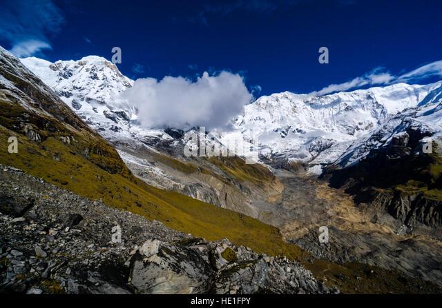 Annapurna South Face Stock Photos & Annapurna South Face ...
