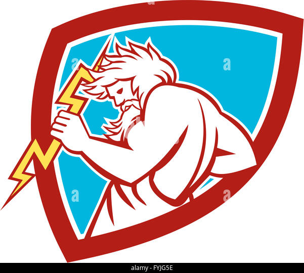 God Thunderbolt Stock Photos & God Thunderbolt Stock ...
