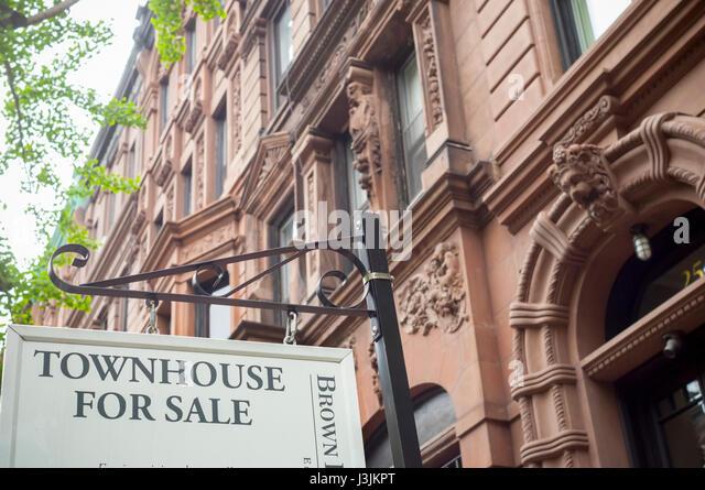 Insurance broker stock photos insurance broker stock for Upper west side townhouse for sale