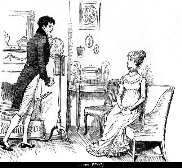 "an analysis of mr darcy in pride and prejudice a novel by jane austen In jane austen's novels, the story's narrator is a very important character in their   a metaphor so that the description of the house is a description of mr darcy: ""it ."
