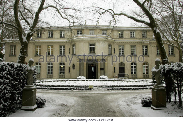 Shows the villa called the house of the wannsee conference gyf71a jpg