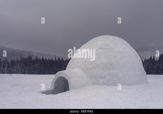 Inuit Igloo Stock Photos & Inuit Igloo Stock Images