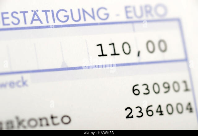 Paying In Slips Stock Photos & Paying In Slips Stock Images - Alamy