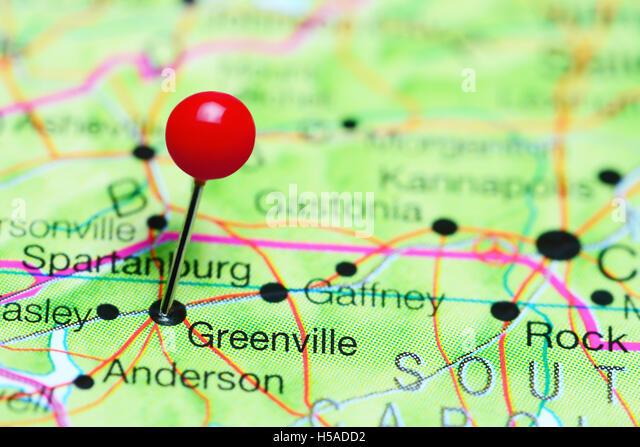 South Carolina On Usa Map Stock Photos South Carolina On Usa Map