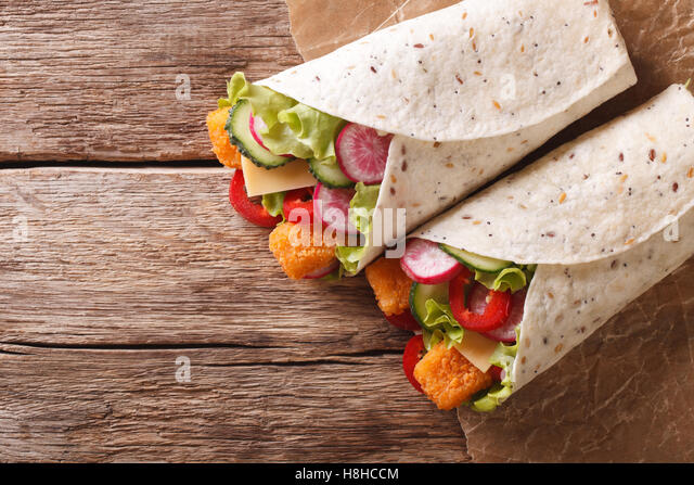 Tuna tacos stock photos tuna tacos stock images alamy for Fish and cheese