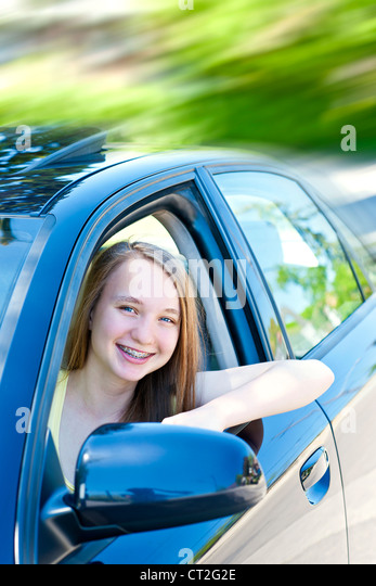 Learning Driving Licence Application लर न ग ड र ईव ग: Student Driver Stock Photos & Student Driver Stock Images