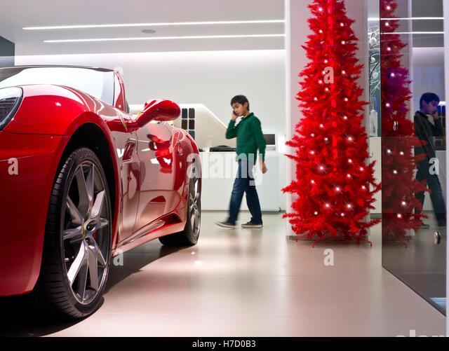 Ferrari california stock photos ferrari california stock for Ferrari christmas