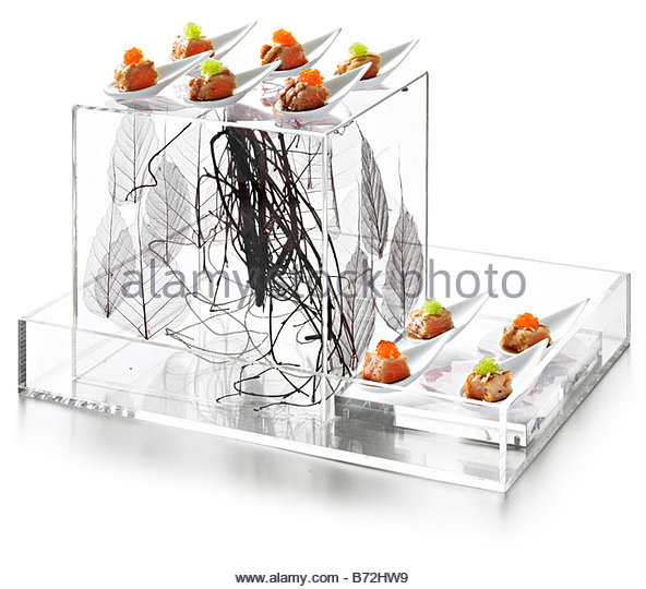 Lucite stock photos lucite stock images alamy for Perspex canape trays